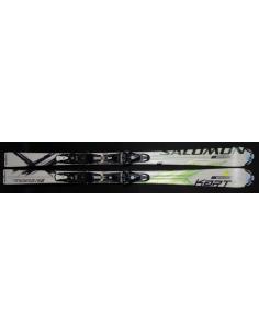 Narty SALOMON X-KART R POWERLINE 158cm (uzywane)