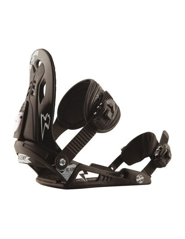 "Wiązania Snowboard-owe RAIDEN CHARGER BLACK ""M"" (Nowe)"